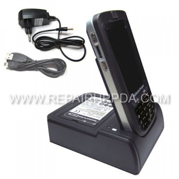 Cradle (Docking Station) with extra battery charger for IPAQ 610, 612, 614, 610c, 612c, 614c