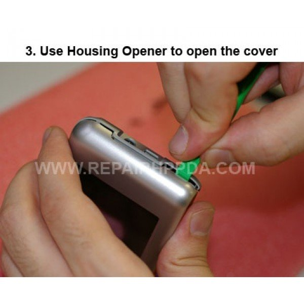 3 Use Housing Opener to open the covers