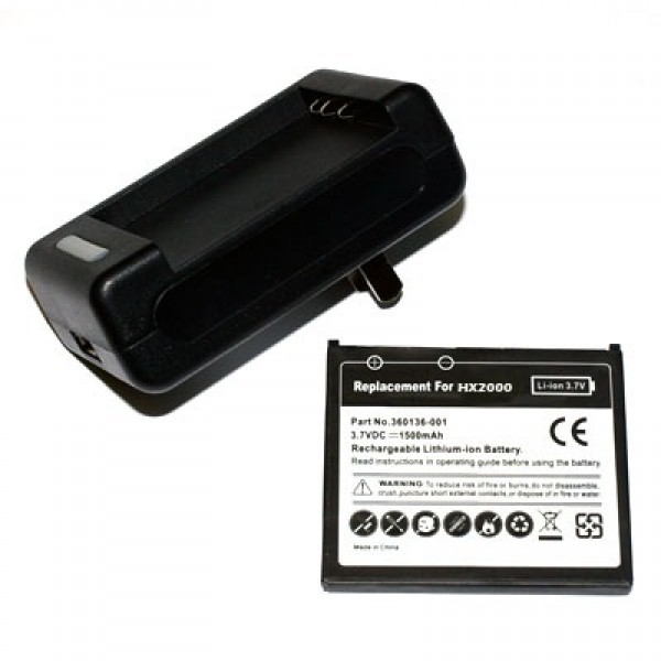 Battery Charger for IPAQ rx5700, rx5720, rx5725, rx5730, rx5765, rx5770, rx5775, rx5780