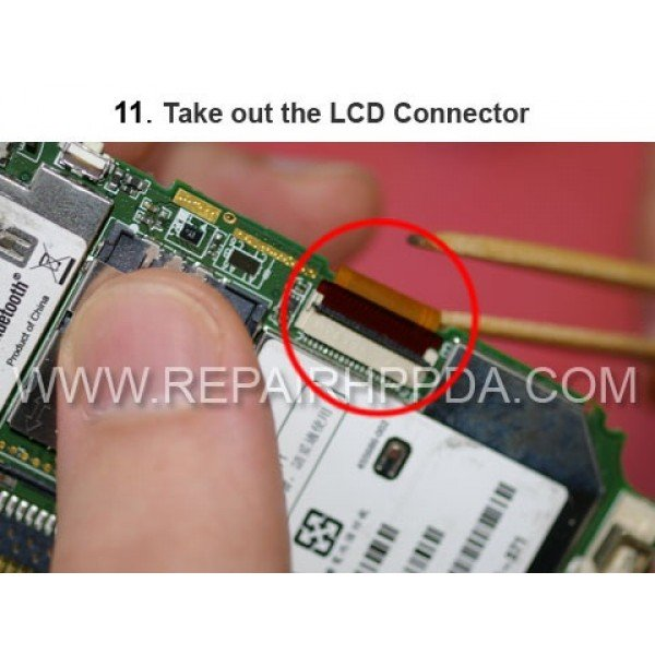 11 Take out the LCD Connector
