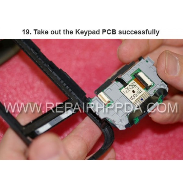 19 Take out the Keypad PCB successfully