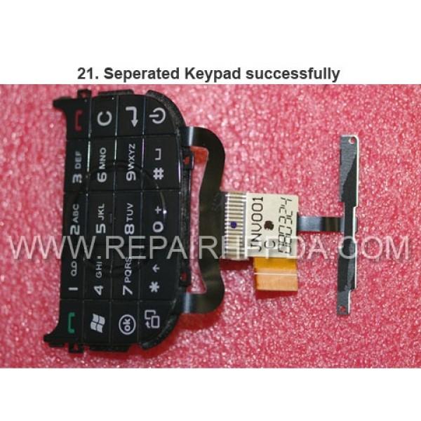 21 Seperated Keypad successfully