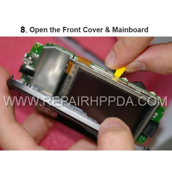 8 Open the Front Cover & Mainboard