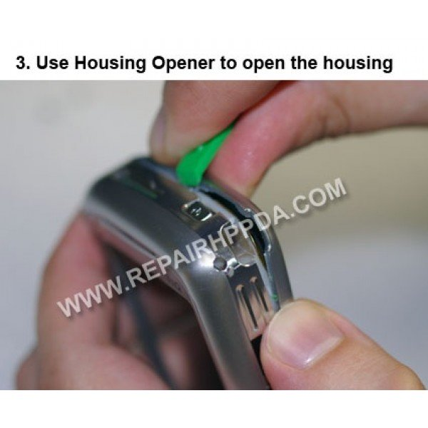 3 Use Housing Opener to open the device