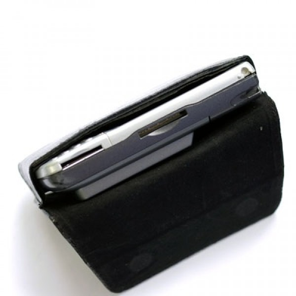 Leather Case (fit Extended Battery) for IPAQ hw6910, hw6915, hw6920, hw6925, hw6940, hw6945, hw6950, hw6955, hw6965