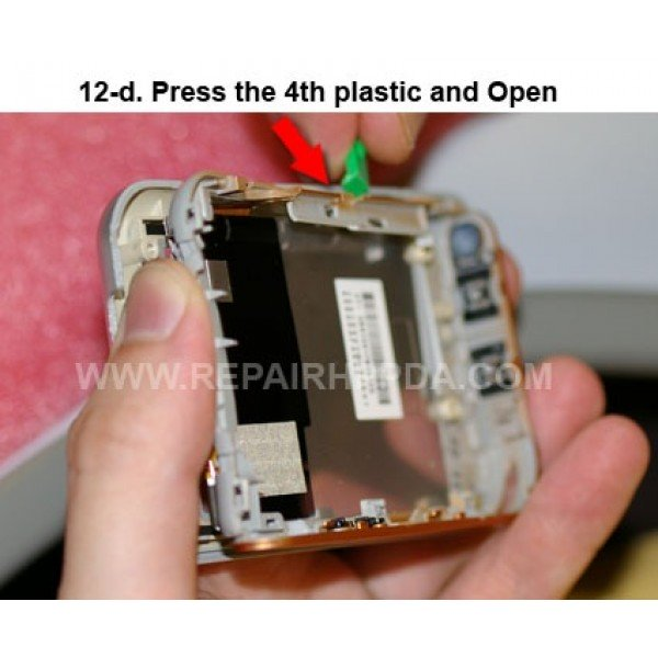 12d Press the 4th plastic and Open