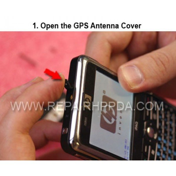 1 First open the GPS Antenna cover