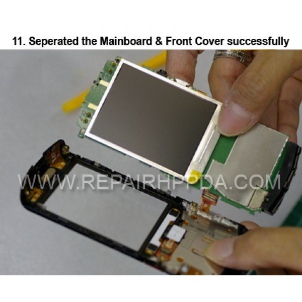 11 Seperated the mainboard and Front Cover succesfully