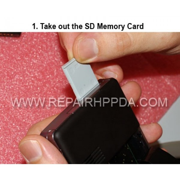 1 First Take out SD Memory Card from device