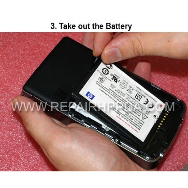 3 Take out the battery