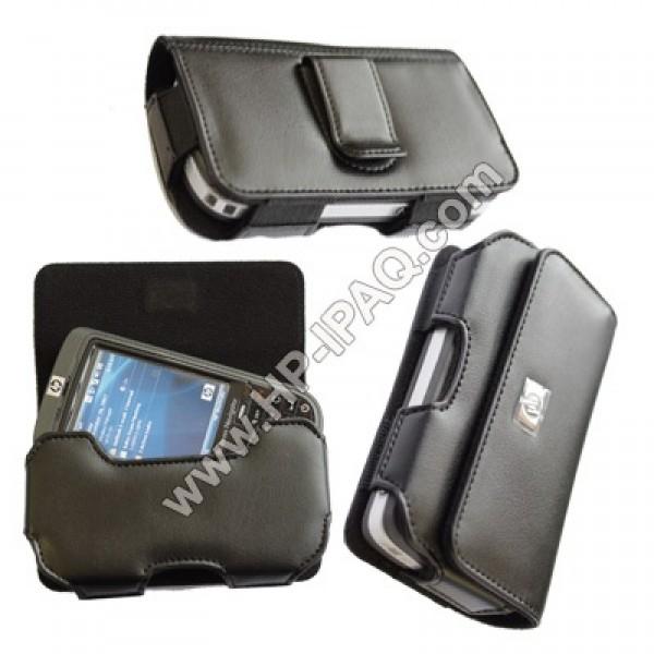 Original IPAQ 610, 612, 614, 610c, 612c, 614c Leather Belt Case