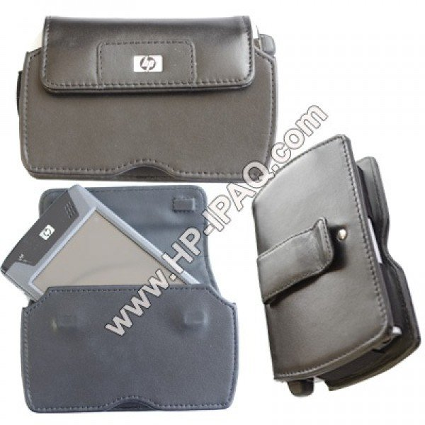 Original IPAQ HX4700, hx4705 Holster Leather Case 375227-001