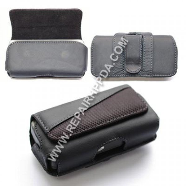 Leather Case (horizontal) with Belt Clip for HP Voice Messenger